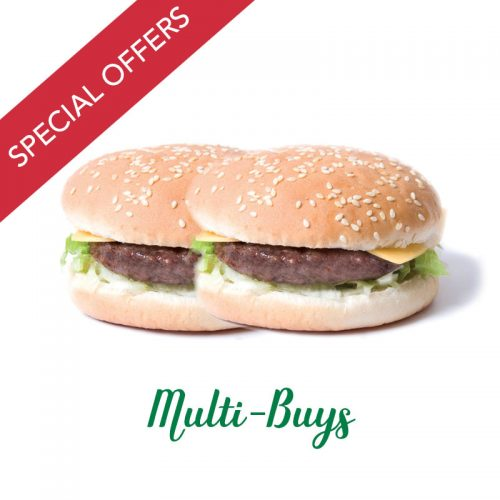 Burgers, Sausages and Saveloys Offers